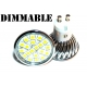 GU10 - 20 SMD LED 3.6W Dimmable